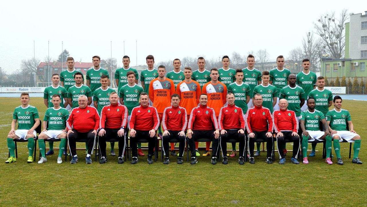 Radomiak Radom II liga 2017/2018