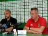 Trenerzy Derbin i Opaliński po meczu GKS Bełchatów - Radomiak