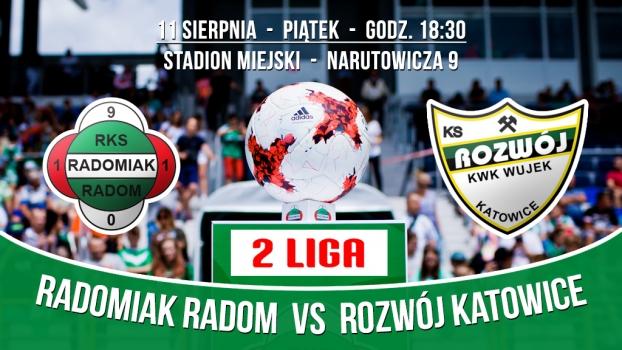 W piątek mecz z Rozwojem Katowice! Kup bilet w przedsprzedaży!