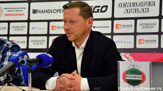 Trenerzy Grabowski i Banasik po meczu Resovia - Radomiak