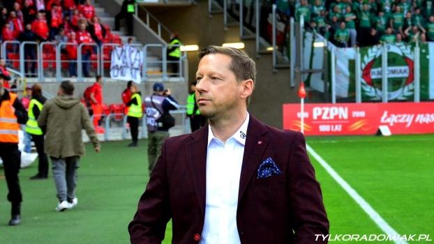 Trenerzy Paszulewicz i Banasik po meczu Widzew - Radomiak