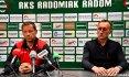 Trenerzy Banasik i Prasoł po meczu Radomiak - Pogoń