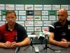 Trenerzy Banasik i Derbin po meczu Radomiak - GKS Bełchatów