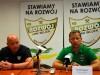 Trenerzy Bosowski i Banasik po meczu Rozwój - Radomiak