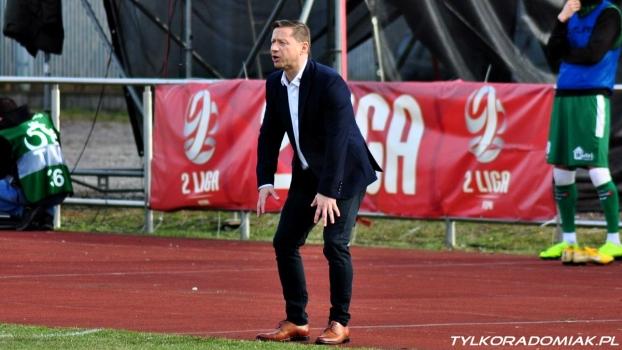 Trenerzy Szymkowicz i Banasik po meczu Gryf - Radomiak