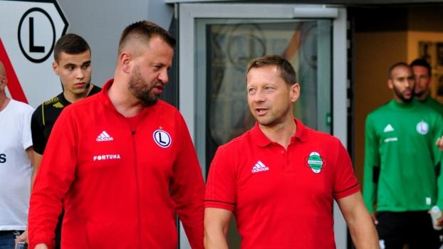 Trener Dariusz Banasik o meczu z Legią