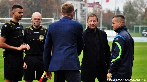 Trenerzy Nocoń i Banasik po meczu Olimpia - Radomiak