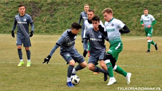 Radomiak Radom - Legia II Warszawa 2:0 (1:0)