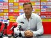 Trenerzy Banasik i Skrobacz po meczu Radomiak - GKS Jastrzębie