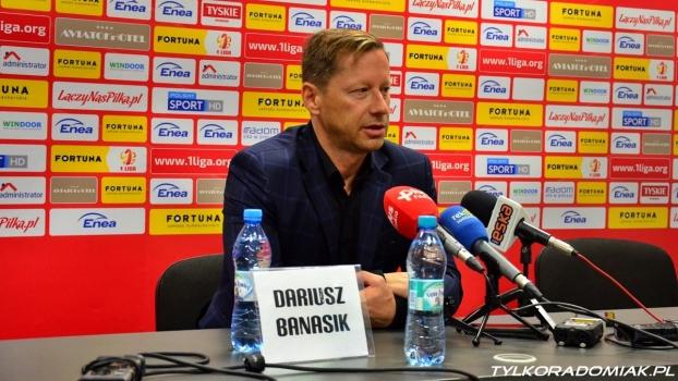 Trenerzy Nowak i Banasik po meczu Miedź - Radomiak