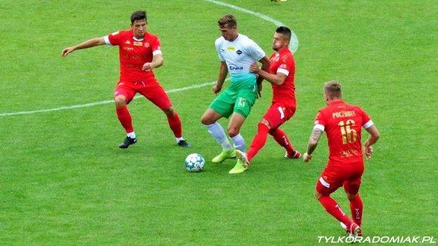 Radomiak Radom - Widzew Łódź 4:1 (0:1)