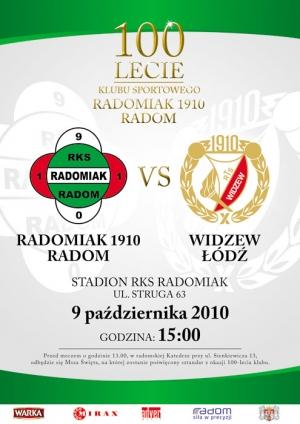 Radomiak Radom - Widzew Łódź 1:1 (0:1)