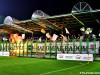Doping i oprawa kibiców na meczu z GKS Bełchatów.