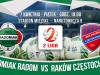 Od poniedziałku sprzedaż biletów na mecz z Rakowem Częstochowa!