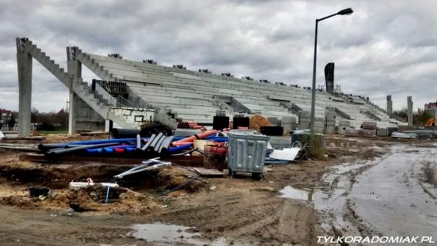 Co słychać na budowie Radomskiego Centrum Sportu?