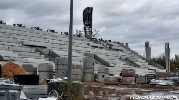 Przetarg na dokończenie hali i stadionu