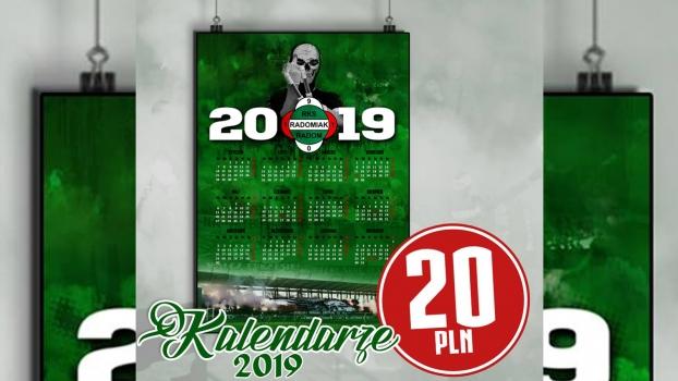 Kibicowskie kalendarze na 2019 rok