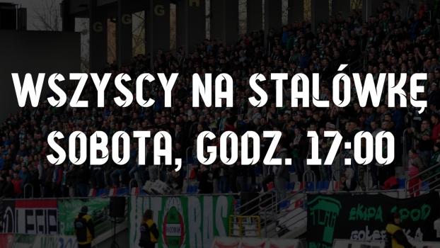 Po spotkaniu z piłkarzami - WSZYSCY NA STALÓWKĘ!