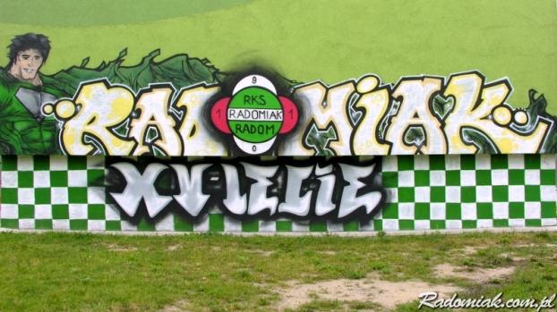 Graffiti RADOMIAK XV-LECIE