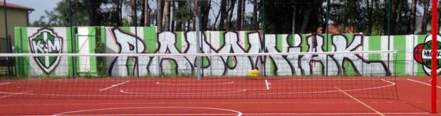 Graffiti RADOMIAK KIEDRZYN & MAŁĘCZYN